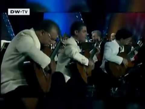 Rare Classical Guitar Clip: Los Romeros on Euromaxx