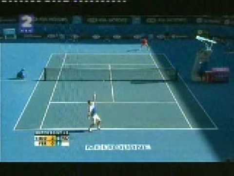 Novak Djokovic vs  David Ferrer Australian Open 2008