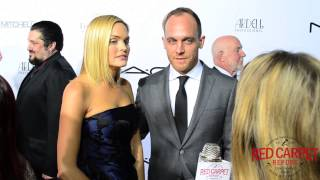 Sunny Mabrey & Ethan Embry at the 2015 Make-Up Artists & Hair Stylists Guild Awards #MUAHSawards