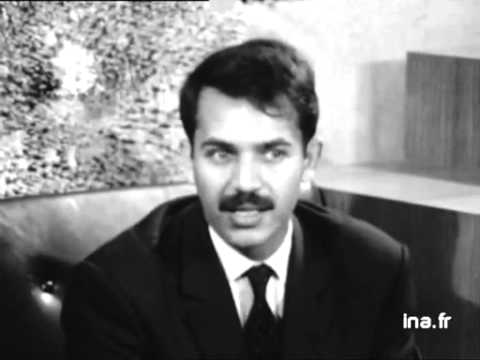 ALGERIE interview du jeune Abdelaziz Bouteflika ministre des affaires étrangère Algérien