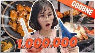 1 triệu MISTHY ăn NGẬP MẶT Ở TIỆM GÀ HÀN QUỐC || WHAT THE FOOD