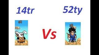 Thử thách 14tr sm pk vs 52ty và phát hiện mới