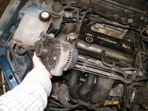 Ford Focus Alternator Change 1.6 Liter
