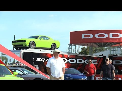 Dodge Night at the Woodward Dream Cruise