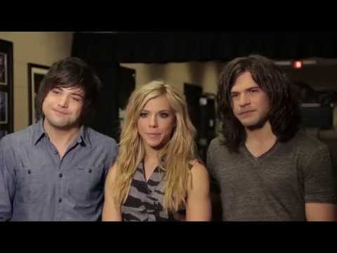 Behind the Scenes with The Band Perry  2014 ACM Awards