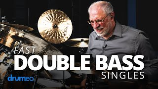 Play FAST Double-Bass Drum Patterns (Dom Famularo)