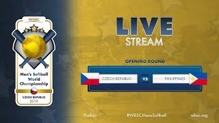Czech Republic v Philippines WBSC Mens Softball World Championship 2019