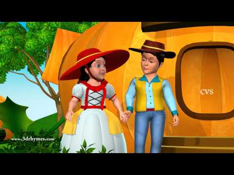 Peter Peter Pumpkin Eater - 3D Animation English Nursery Rhyme Song For Children With Lyrics