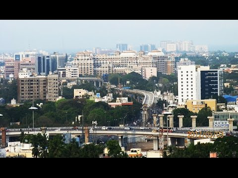 Chennai City tour in 2 minutes 2016