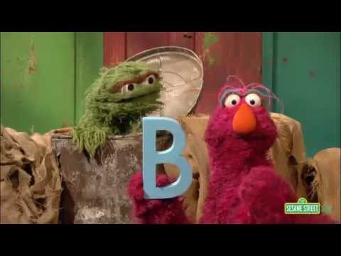 Sesame Street - Telly, Oscar and the letter B - YouTube