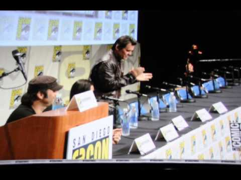 Sin City 2 Panel intro of actors San Diego Comic Con 2014