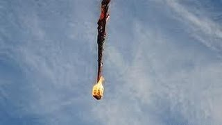 Hot air balloon on fire.Many killed! Rip 2013