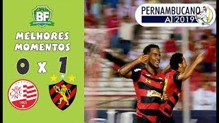 Náutico 0 x 1 Sport | Melhores Momentos | Final do pernambucano 2019 | Barrinha Fechada