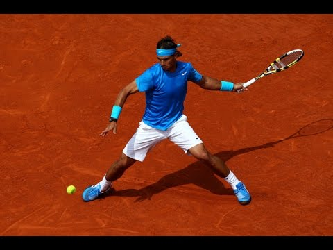 Rafael Nadal ♦ Amazing Forehands in Grand Slam (HD)