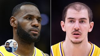 Jalen Rose reacts to LeBron giving Alex Caruso the nickname 'GOAT' | Jalen & Jacoby