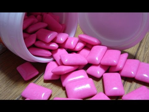 DIY. КАК СДЕЛАТЬ ЖЕВАТЕЛЬНУЮ РЕЗИНКУ?  HOW TO MAKE BubbleGum???
