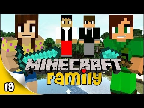 Minecraft Family - EP 19 - PvP Troll!