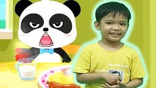 Kỹ năng cho bé tập 2 ở nhà một mình kỹ năng cho trẻ em với baby bus Kênh trẻ em - video cho bé yêu