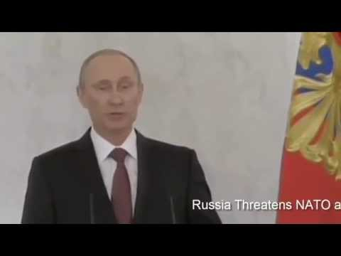 Russia threatens NATO and the EU media reports Putin's threat to Riga, Warsaw and Bucharest
