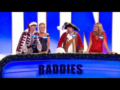 Alan Carr's Christmas Ding Dong 2008 - Part 3 - Panto Goodies vs Baddies Video
