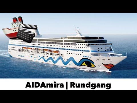 AIDAmira Schiffsrundgang! - Offizieller Rundgang mit Blick in Restaurants, Kabinen und vieles mehr!