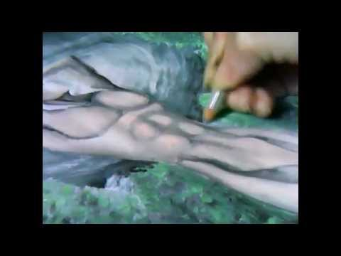 WARNING: This is a video of me drawing an artistic male nude.