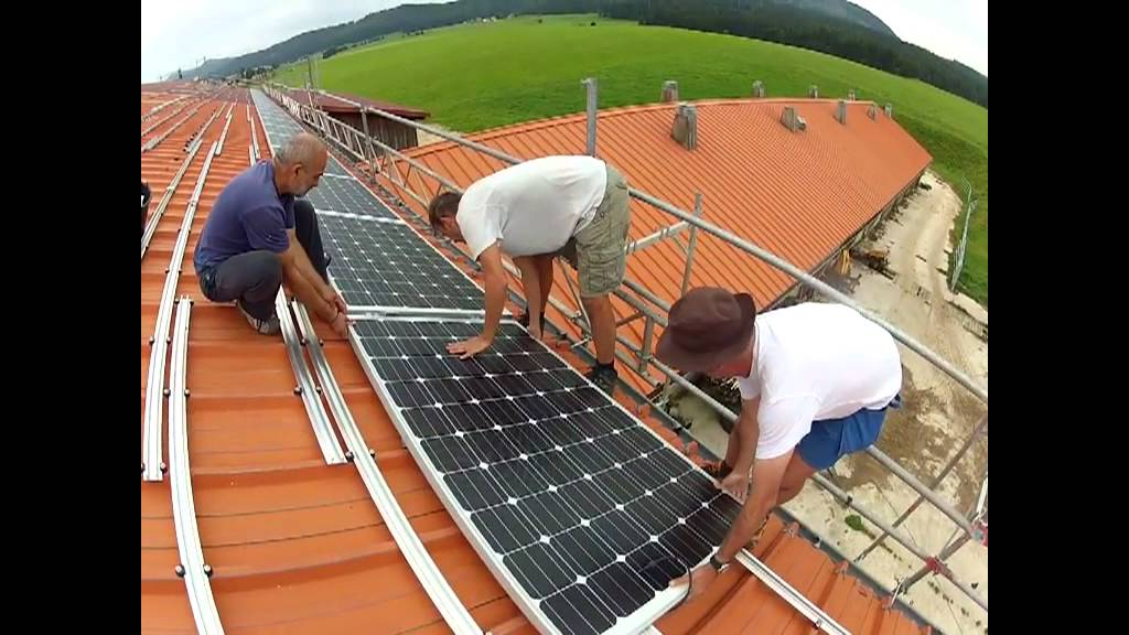 Installation panneaux solaires youtube - Cout installation photovoltaique 3kw ...