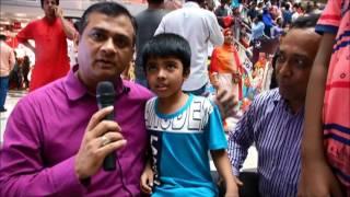Eid Bazaar Fun Interviews Part 1 - The Naveed Mahbub Show, June 20, 2017