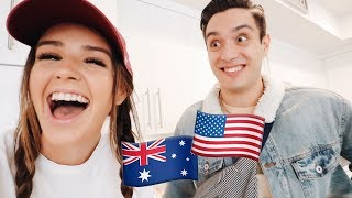 Husband & Wife Switch Accents For A Day!!