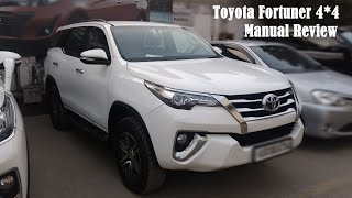 Toyota Fortuner 4x4 MT Real life review 2019   Interior and Exterior Overview