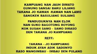 Download Lagu Lagu dan Tari Nusantara: KAMPUNG JAUH DIMATO - Lagu Anak Gratis STAFABAND