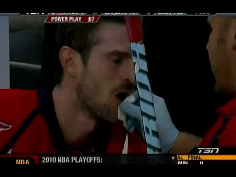 Washington Capitals' Eric Belanger Pulls Out His Own Tooth Video