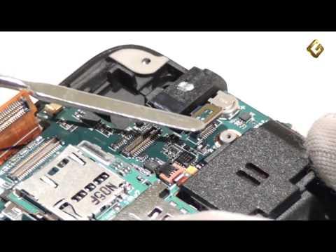 Samsung I9000 Galaxy S - как разобрать телефон. из чего состоит