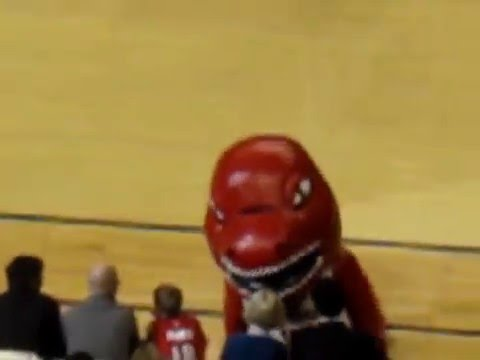 The Most Entertaining and Funniest Mascot in the World
