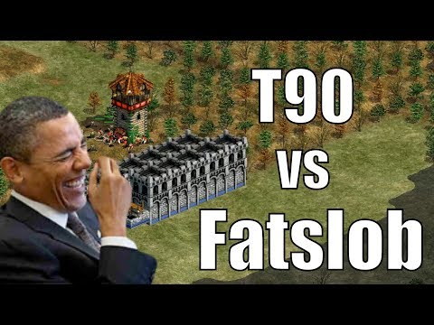 AoE2 - T90Official vs Fatslob