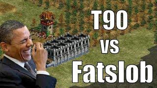 AoE2 - T90Official vs Fatslob