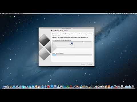 Windows 7 uninstallation from Mac (Boot Camp)