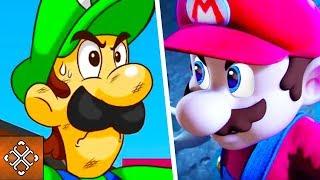 Mario Vs Luigi - 5 Reasons Luigi Would BEAT Mario In A Fight