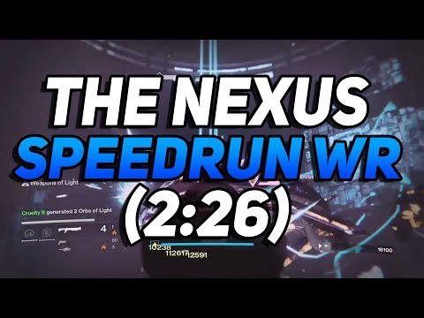 Destiny - The Nexus Speedrun World Record! (2:26)
