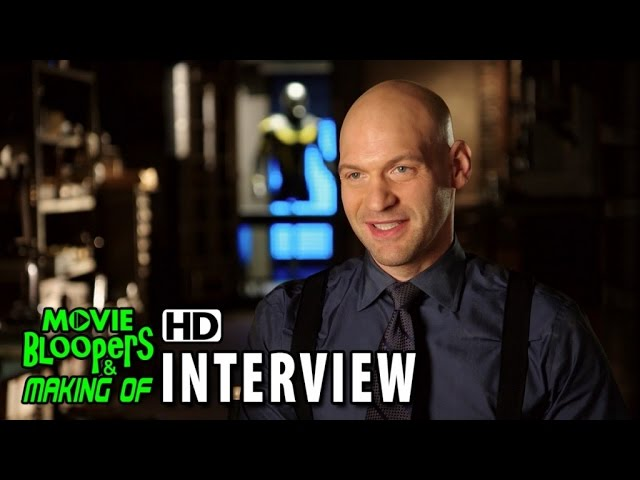Ant-Man (2015) Behind the Scenes Movie Interview - Corey Stoll is 'Darren Cross - Yellow Jacket'