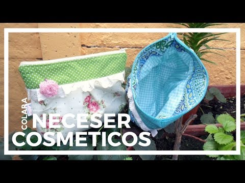 Neceser Cosmeticos Paso a Paso // Cosmetic Bag Step by Step 2018 + Molde Gratis !