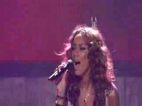 Leona Lewis American Idol Performance
