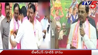 CM KCR Speech @ Congress Leader Danam Nagender Joining Into TRS Party