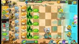 Pea Pod Freeze Glitch - Plants Vs. Zombies 2: It