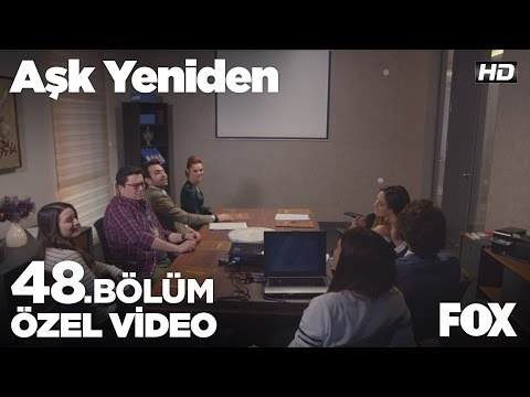 Selimpaşa reklam filmi şirkette beğenilirse! Aşk Yeniden 48. Bölüm