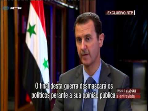 Bashar al Assad em entrevista exclusiva à RTP