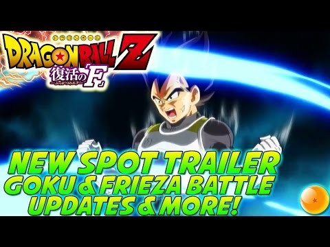 DRAGONBALL Z: Revival Of 'F' (2015) NEW Spot Trailer Review + Gohans Future & More 復活の「F」