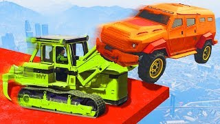 INSURGENTS vs. BULLDOZERS! (GTA 5 Funny Moments)