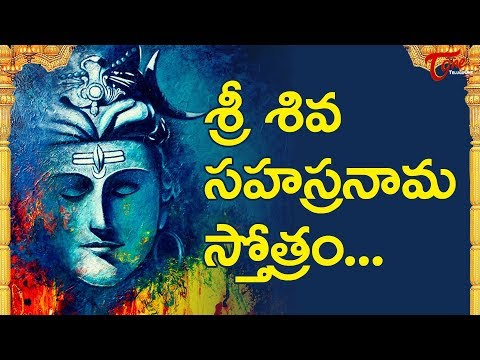 Sri Shiva Sahasranama Stotram In Telugu video