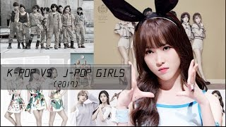 Download Lagu K-Pop vs. J-Pop Girls (2017 Edition) Gratis STAFABAND
